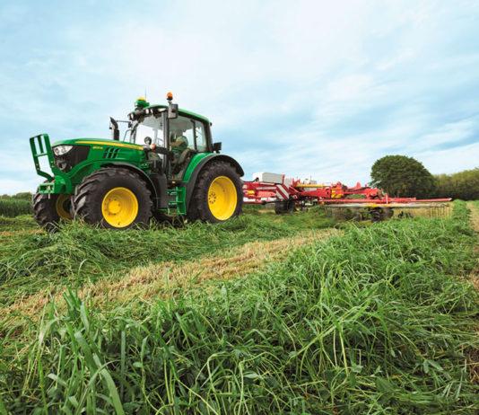 Salfa tractor John Deere