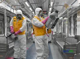 Desinfección ambiental en empresas