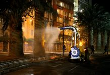 sanitizacion de espacios públicos