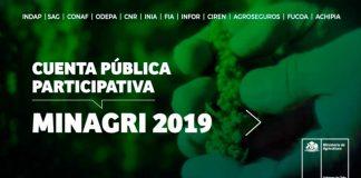 Cuenta Pública Participativa 2019 - MINAGRI
