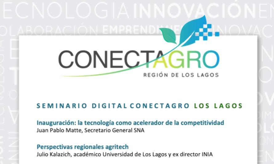 Seminario Digital Conectagro Los Lagos