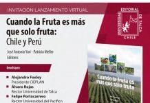 Lanzamiento Libro: «Cuando la fruta es más que solo fruta: Chile y Perú»