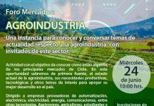 Webinar AIE. Foro Mercados Agroindustria