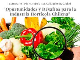 Seminario web «Oportunidades y Desafíos para la Industria Hortícola Chilena»