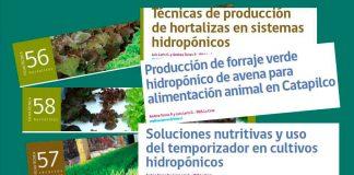 cultivos hidropónicos INIA