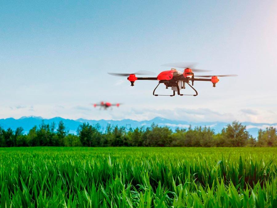 Dron Inteligente para Fumigación y Siembra