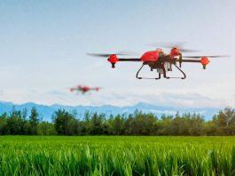 Drone para agricultura de precisión