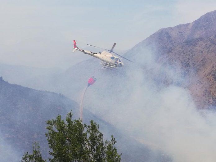 Alerta temprana preventiva en la Región Metropolitana   Incendios Forestales