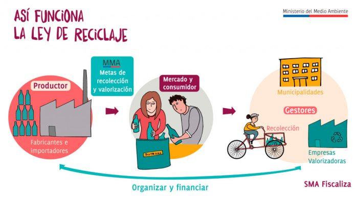 EcoCluster la primera plataforma en línea para la gestión integral de residuos Ley REP 20.920