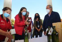 Ministra Undurraga encabeza certificación de primera partida de aceite de oliva del Valle de Huasco con sello de Denominación de Origen