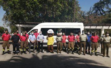 Autoridades llaman a la prevención de Incendios Forestales en Talagante
