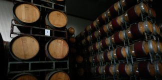 barriles vino