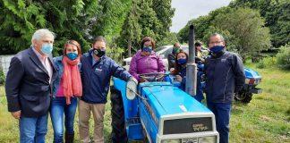 Mujeres Rurales de la provincia de Llanquihue reciben maquinaria agrícola para potenciar sus labores productivas