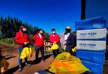 Trabajadores agrícolas de Biobío recibieron implementos contra rayos UV