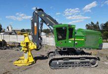 Feller Buncher 959M: el potente John Deere que llega a la industria forestal chilena