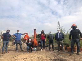 INIA La Platina impulsa alternativas sustentables para evitar quemas agrícolas en la región Metropolitana