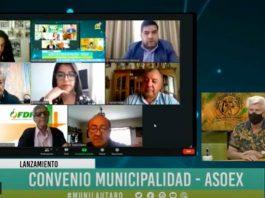 ASOEX y Municipalidad de Lautaro lanzan plataforma internet que permitirá a agricultores de comunidades indígenas y productores de La Araucanía identificar su potencial frutícola