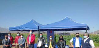 En sector de Nueva Aurora, Subsecretario de Agricultura invita a pequeñas agricultoras a participar en concurso para mujeres y pueblos originarios