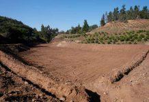 Rehabilitación de tranque CORA El Convento II permitirá riego de más de 63 hectáreas en Santo Domingo
