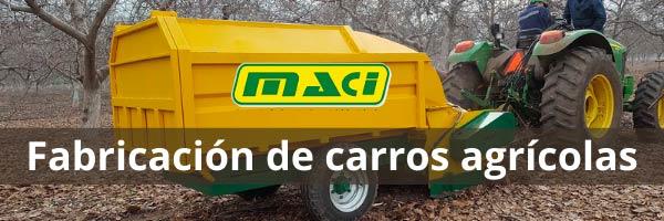 Fabricación de carros agrícolas