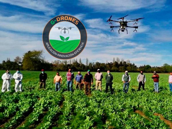 Dron Inteligente Fumigación y Siembra GUTIS DRONES