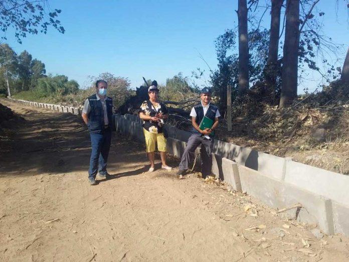 INDAP Ñuble apuesta por la reactivación agrícola con obras de riego para la pequeña agricultura