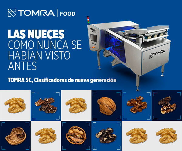 Máquina clasificadora nueces y frutos secos TOMRA 5C TOMRA Food