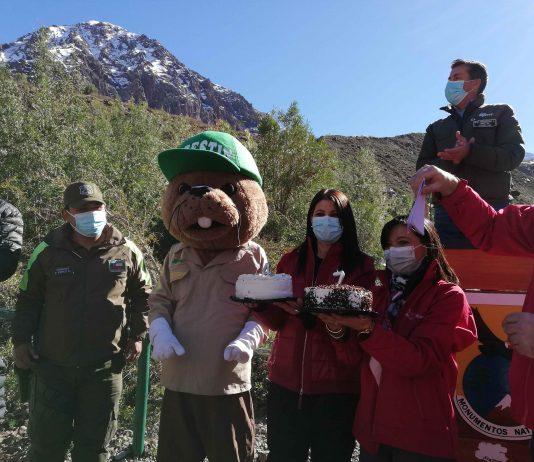 Autoridades celebran aniversario 47° del Monumento Natural El Morado