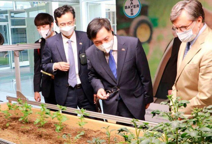 Corea y el IICA buscan alianzas para impulsar agricultura baja en carbono y mejorar calidad de vida en zonas rurales