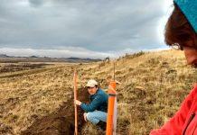 """""""Curso de capacitación en prácticas conservacionistas de suelo y agua para la región de Aysén"""" se realizó el 8 y 9 de julio"""
