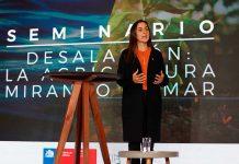 """Seminario """"Desalación: la agricultura mirando al mar"""" Ministerio de Agricultura analiza la desalación como alternativa de riego ante la crisis hídrica"""