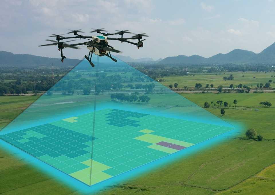 Uso de drones para la agricultura de precisión. Índice de vigor con drones en agricultura de precisión.