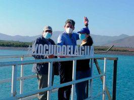 Subsecretario de Agricultura y canalistas del embalse Recoleta destacan aporte de tranque Santa Julieta
