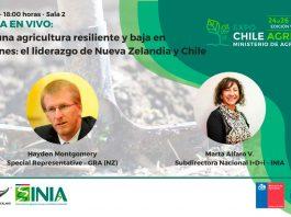 Expo Chile Agrícola 2021   Líderes de INIA y GRA expondrán en vivo sobre resiliencia en la agricultura y su alcance global