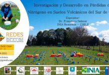 Realizarán seminario sobre pérdidas de nitrógeno en suelos volcánicos del sur de Chile