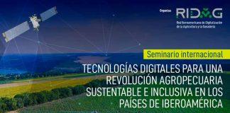 seminario internacional sobre agricultura digital organizado porRIDAG