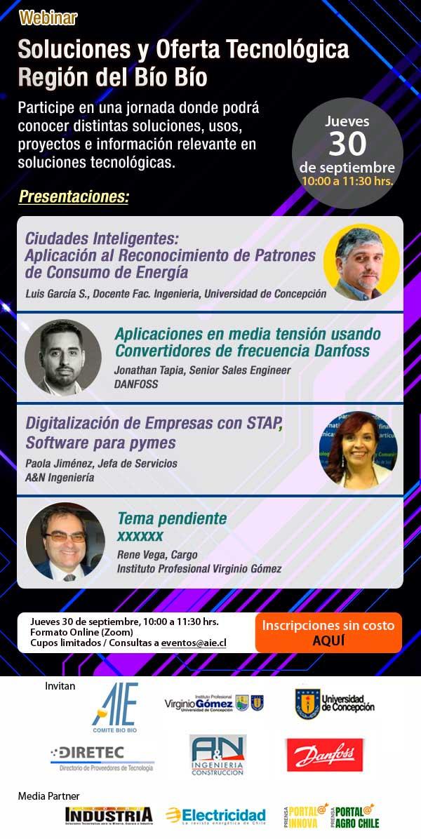 Soluciones y Oferta Tecnológica Región del Bío Bío | Webinar AIE