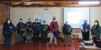 Vecinos de Lebu, Cañete y Los Álamos se preparan para realizar acciones preventivas contra incendios forestales gracias a CONAF