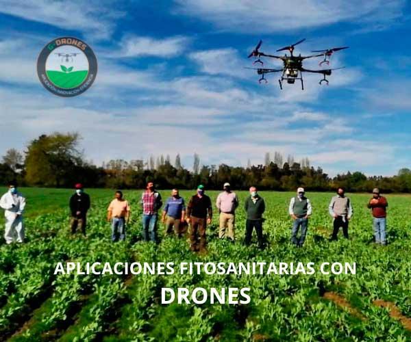 DRONES FITOSANITARIOS AGRICULTURA
