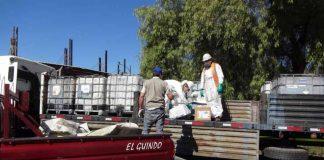 1.800 kilos de plaguicidas caducados fueron recolectados para valorización en Mostazal