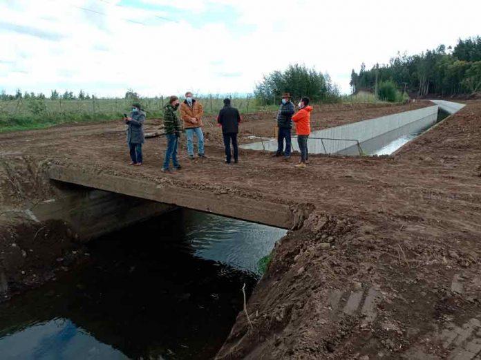 CNR ejecuta de obras de riego por $4.600 millones en la Provincia del Biobío